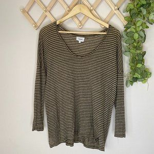 Seed Heritage Size XS 100% Linen Top